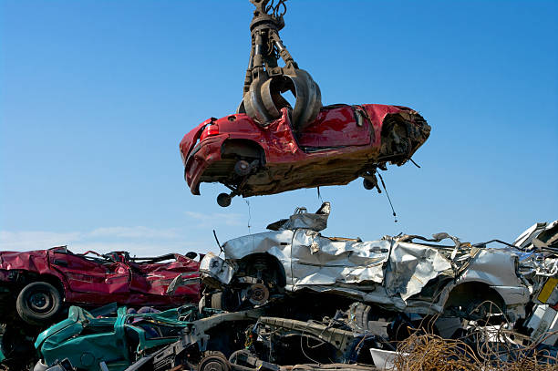 Scrap Cars and Car Junk Yards: There's Money In-Vehicle Recycling