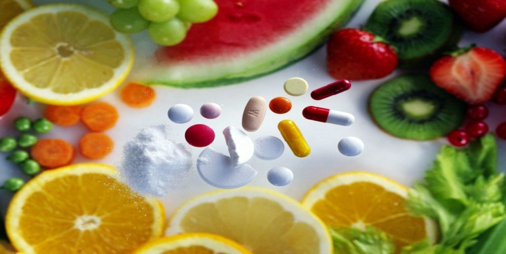 Which Vitamins fight against the inflammatory?